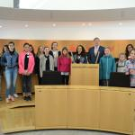 Girls Day 2017. Foto: Hessischer Landtag, Kanzlei
