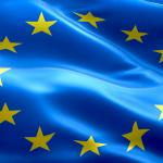 Europafahne mit Sternenkreis. Foto: Fotolia_109956473_Subscription_Monthly_XL.jpg