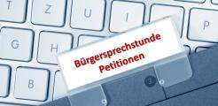 Buergersprechstunde Petitionen